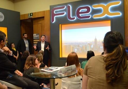 Flex encerra sua participação no Congresso Nacional das Relações Empresa-Cliente