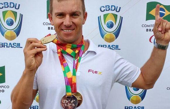 Cleomar da Silva garante vaga na seleção de Atletismo Paralímpico