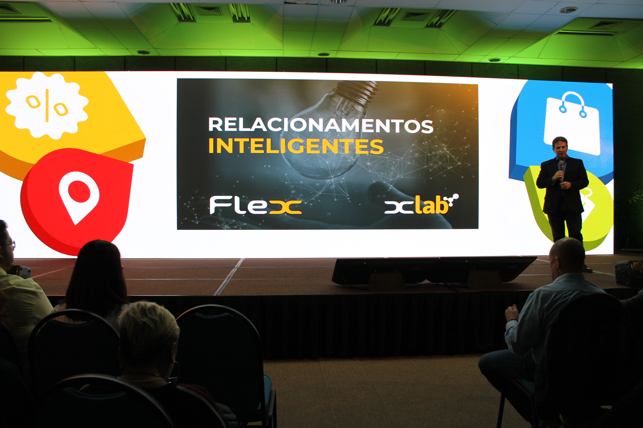 Kleber Bonadia realiza palestra durante Marketing Mix 2018