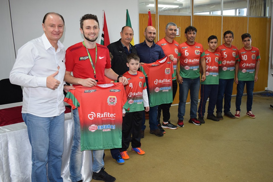 Flex reforça incentivo com equipes esportivas de Xanxerê