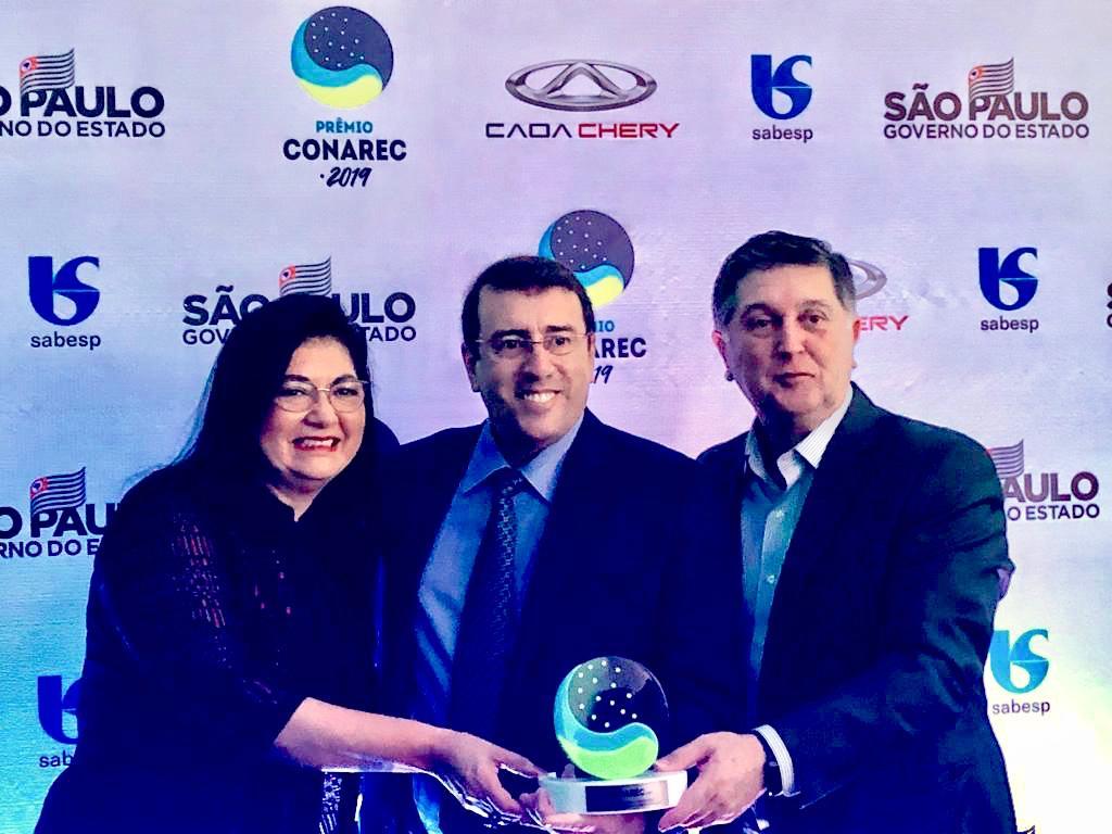 Flex é reconhecida durante Prêmio Conarec 2019