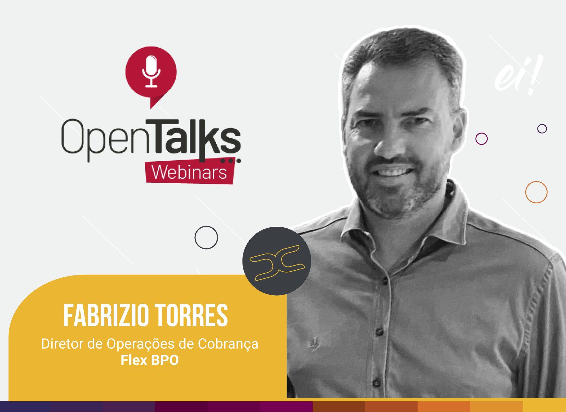 Open Talks Webinars: diretor Flex fala dos desafios da cobrança em 2021.